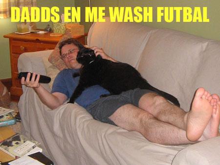 dadds en me wash futbal