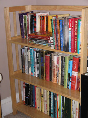 sorted books