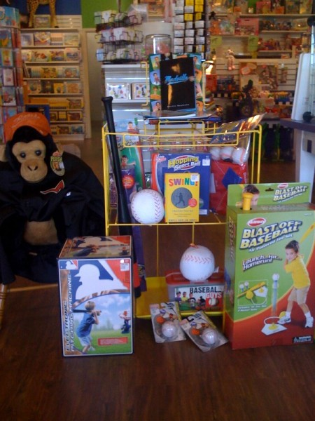 Mudville in a Baseball Display