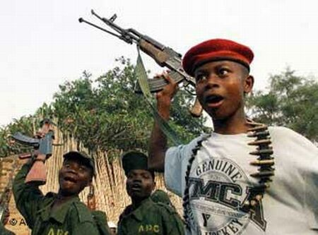 Child soldiers in West Africa
