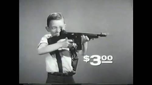 Toy gun ad